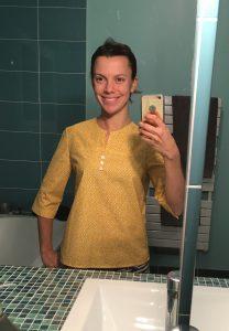 nom d'une couture chemise jaune burda couture facile automne hiver 2015 2016 10