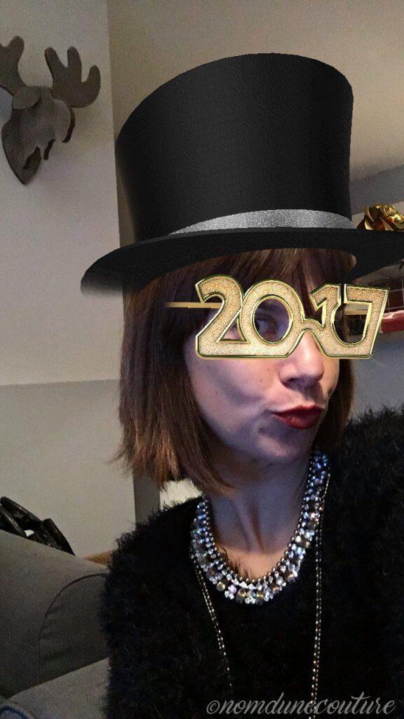 Nom d'une couture ! Bonne année 2017