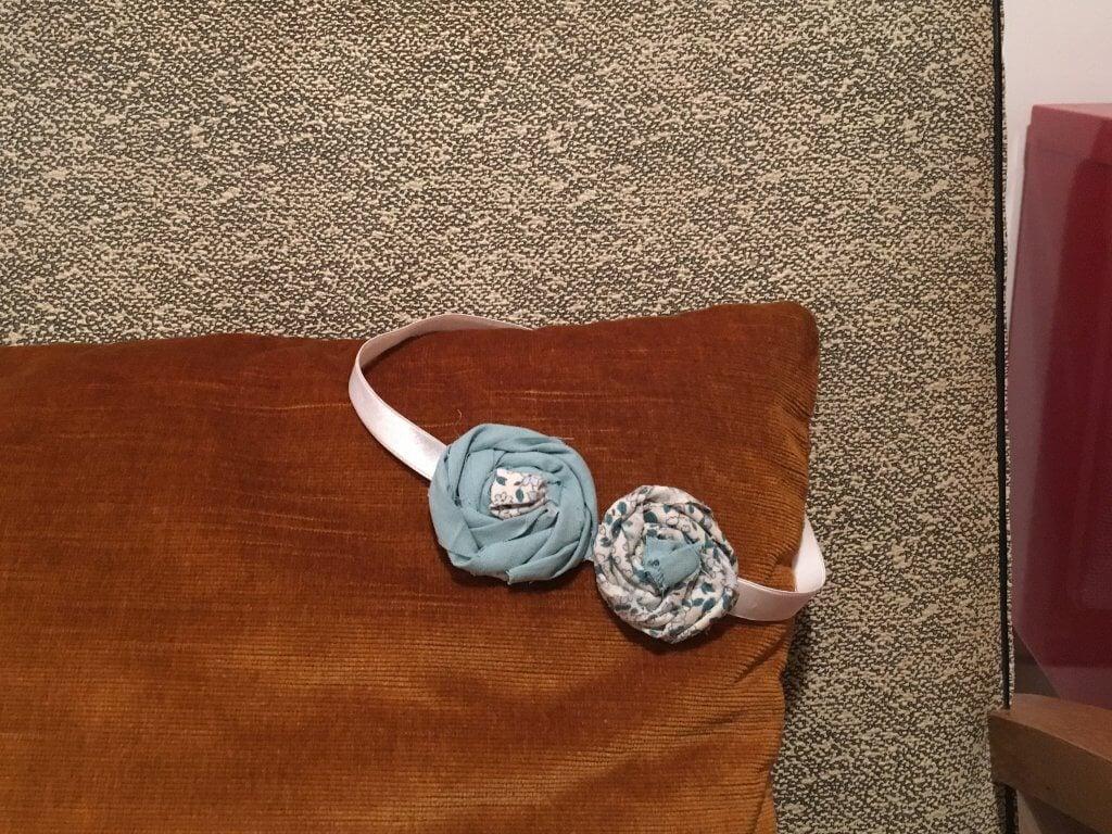 Nom d'une couture ! Headband pour ma nièce