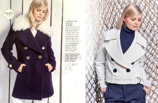 Magazine Burda style 201 - octobre 2016 - veste et manteau 119