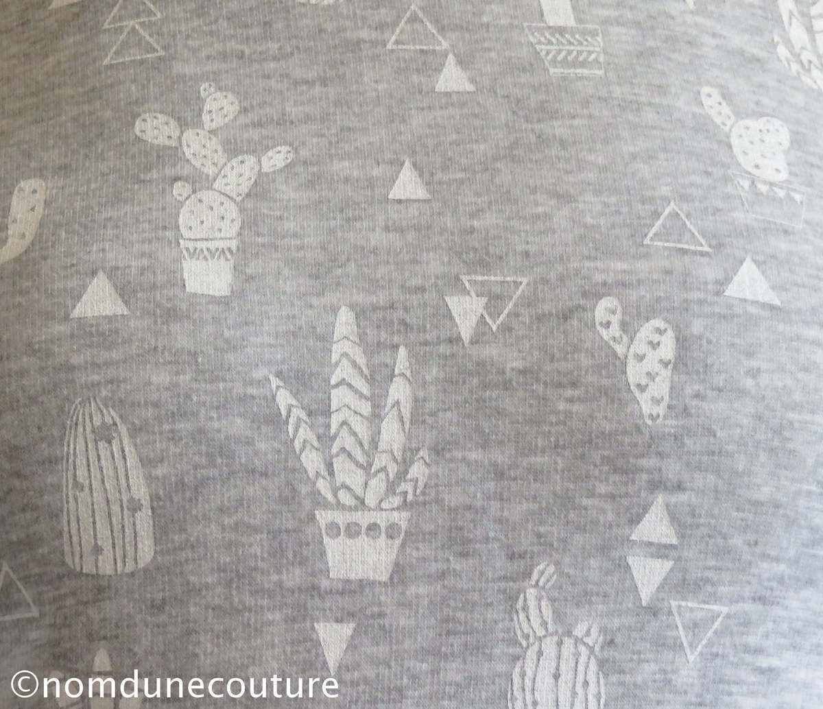 Nom d'une couture ! Tissu cactus Diffus Laines Tissus