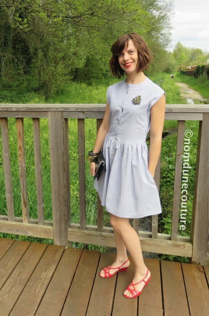 Nom d'une couture ! Robe Simone Louis Antoinette Paris