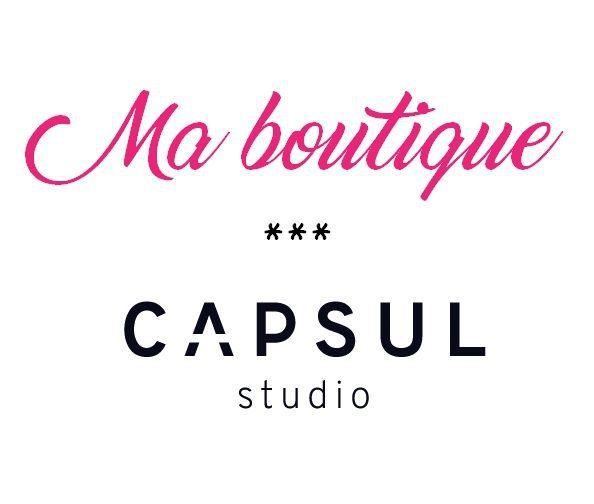 Ma boutique capsul studio nom d'une couture !