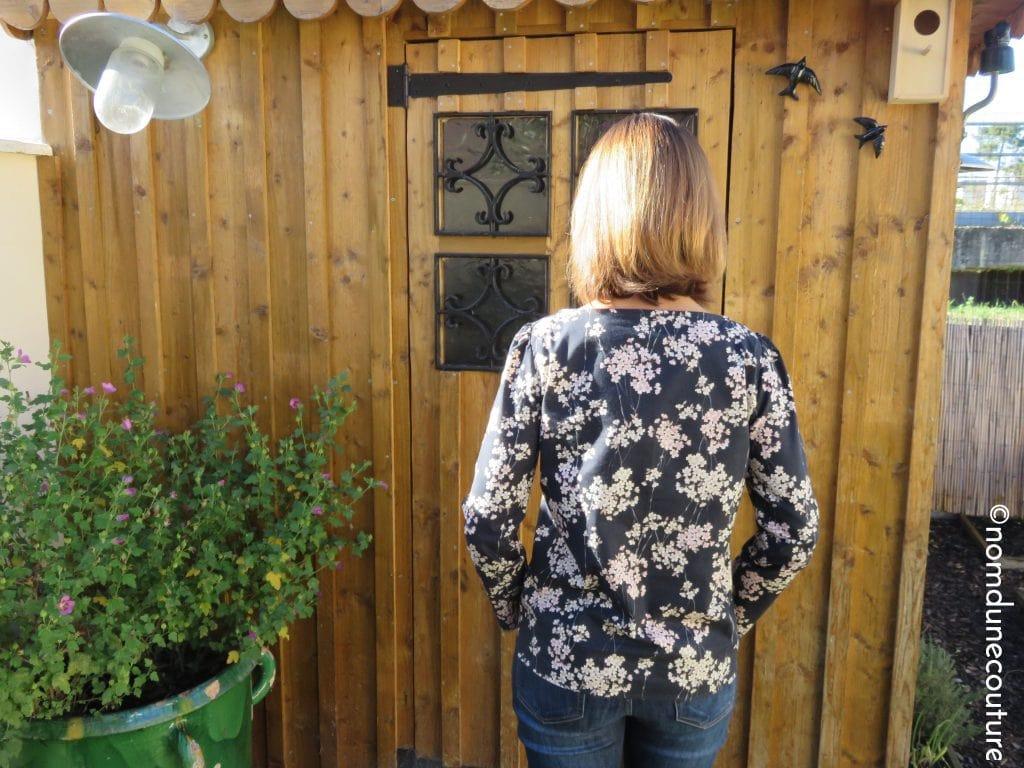 détail de la blouse cézembre