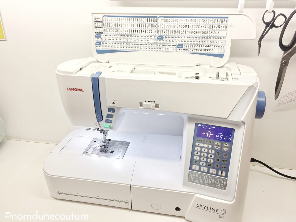 machine à coudre Skyline S5 Janome