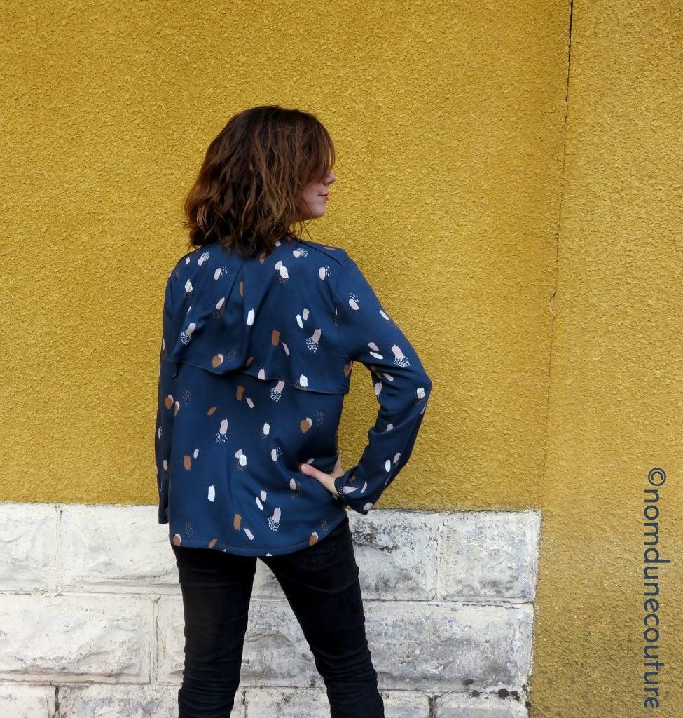 Dos de la blouse rocaille