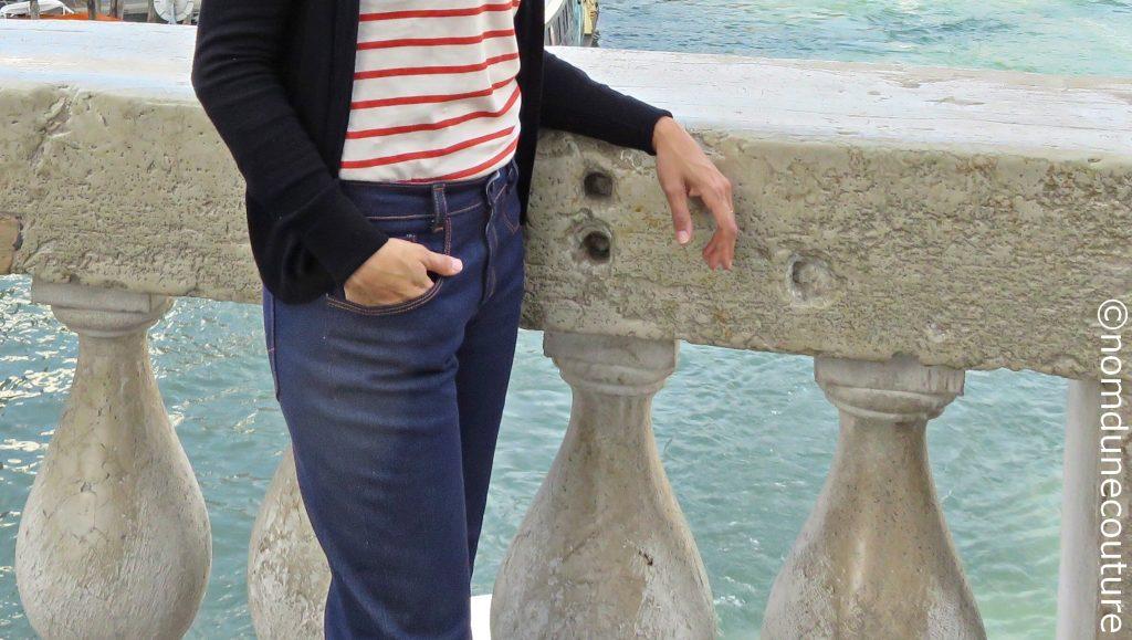 mon jean pop corn en vacances à Venise