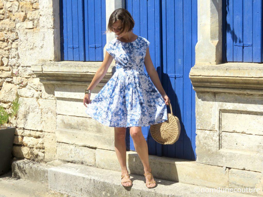 patron de robe - Andria Anne kerdilès couture