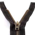 zip séparable 65 cm noir