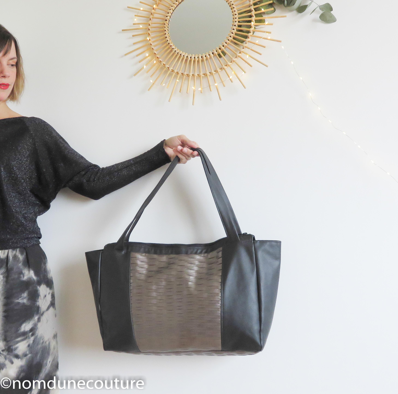 84b35b4efc Petit sac d'une couture Emile Nom patron couture Mon xqOcf17wUw