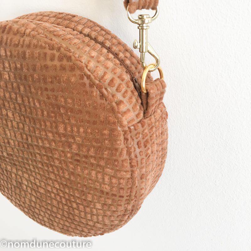 Coudre son sac rond