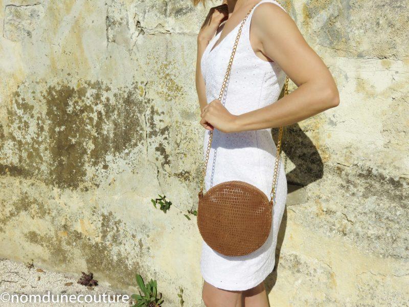 patron du sac sun rond nom d'une couture patterns