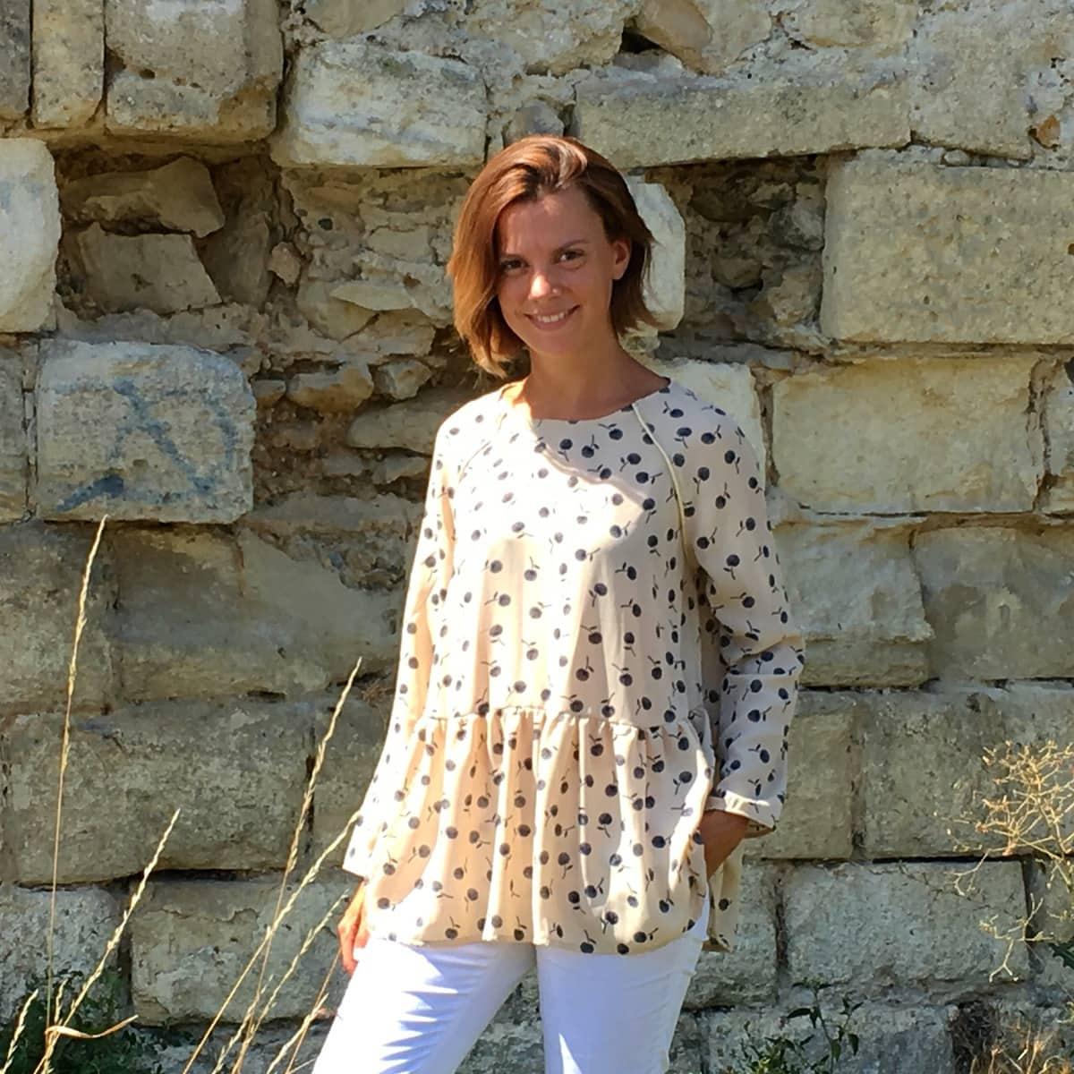 Maxi-blouse : Marthe est dans la place !