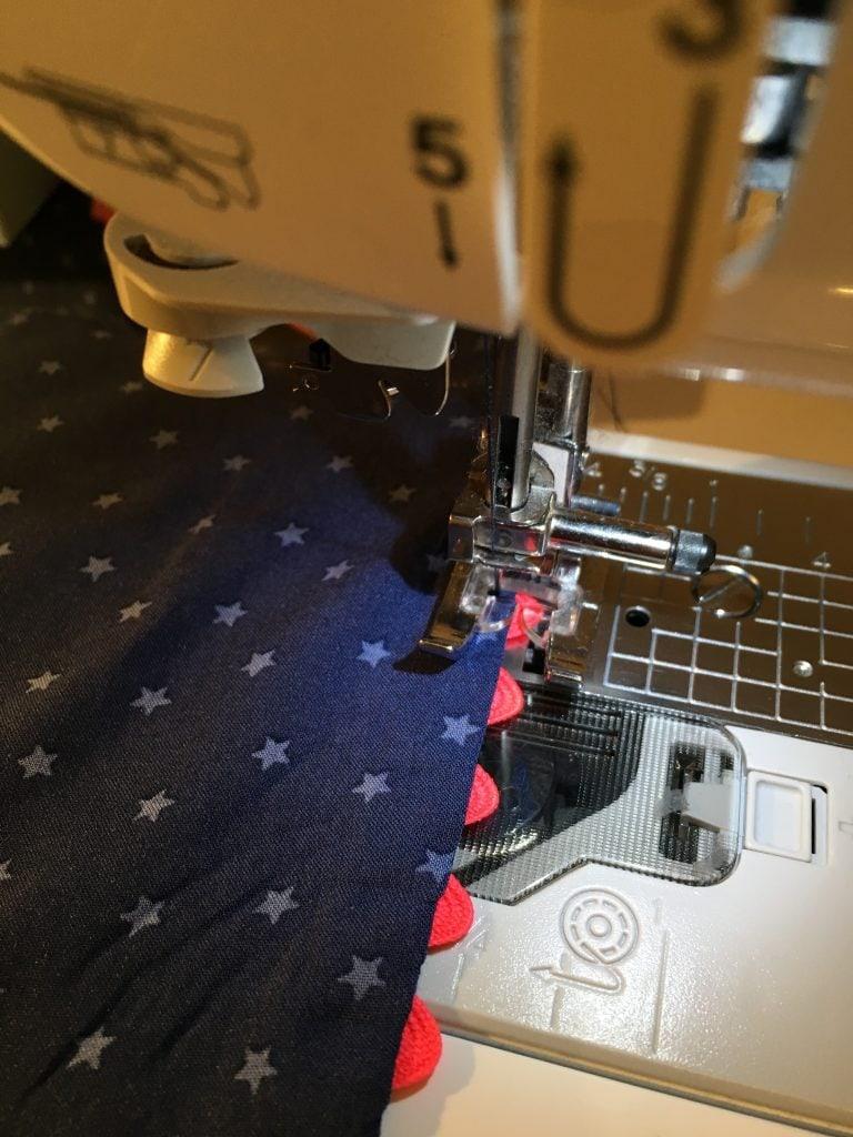 nom d une couture short ben chez machine tissu viscose etoile et croquet rose fluo