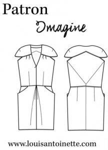 Nom d'une Couture ! Ma robe Imagine - Louis Antoinette Paris