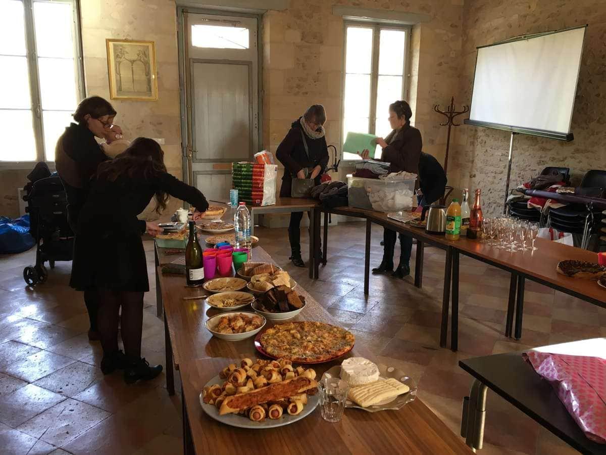 La découverte du Café couture Bordelais de Noël