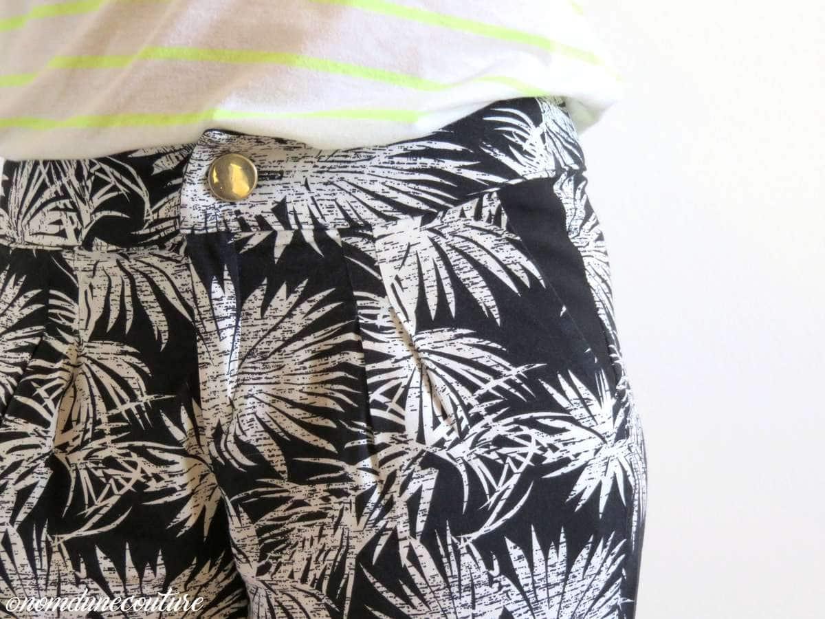 Nom d'une couture ! Pantalon Gilbert La République du Chiffon Artesane