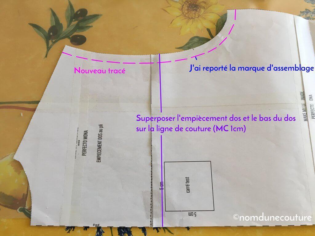 Nom d'une couture ! Créer une doublure pour le perfecto Mona Wear Lemonade
