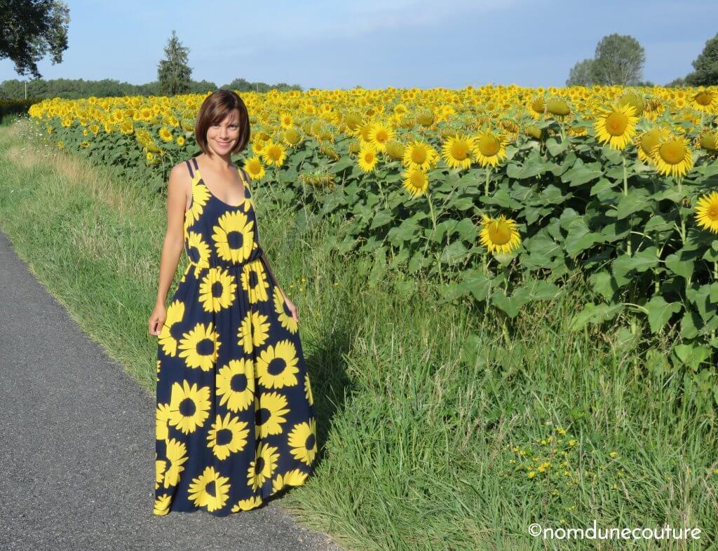 robe avec jupe cercle