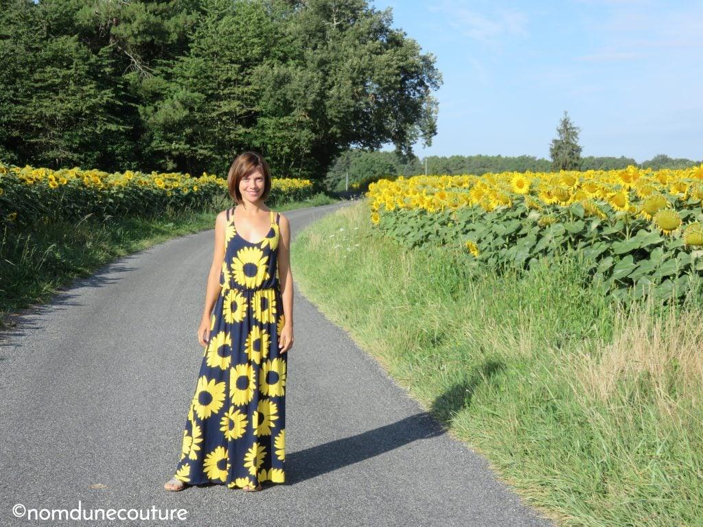 coudre une robe longue pour l'été