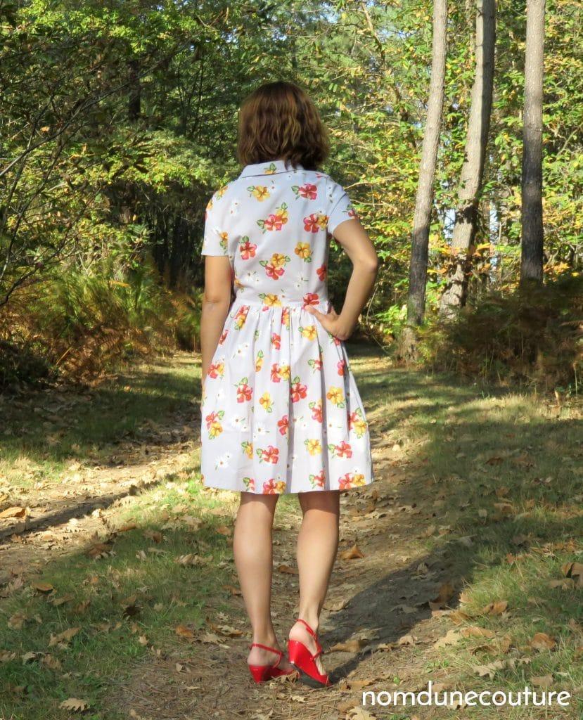 le dos de ma robe cami vintage