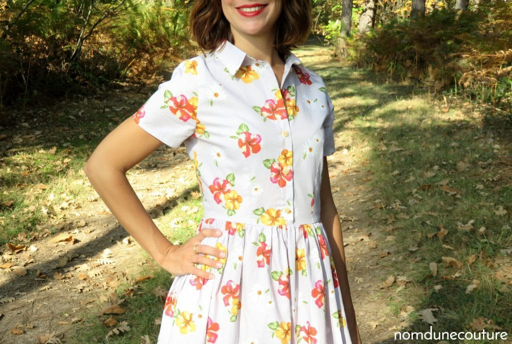 corsage de ma robe cami pauline alice patterns
