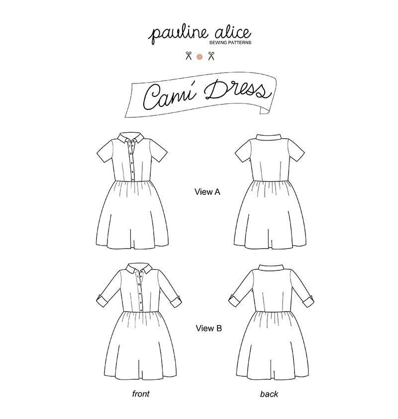 patron de la robe Cami Pauline Alice