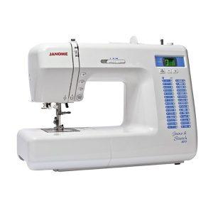 machine à coudre Janome 8077 jean stretch