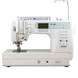 machine à coudre janome MC6600 PRO