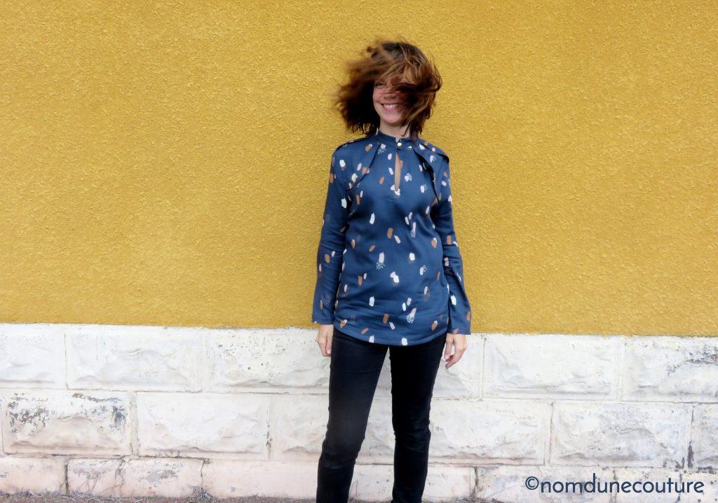 ma blouse rocaille en moonstone blue