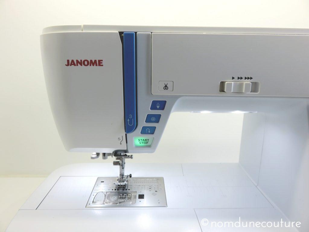 Apprendre à utiliser les fonctionnalités de la Skyline s5 Janome