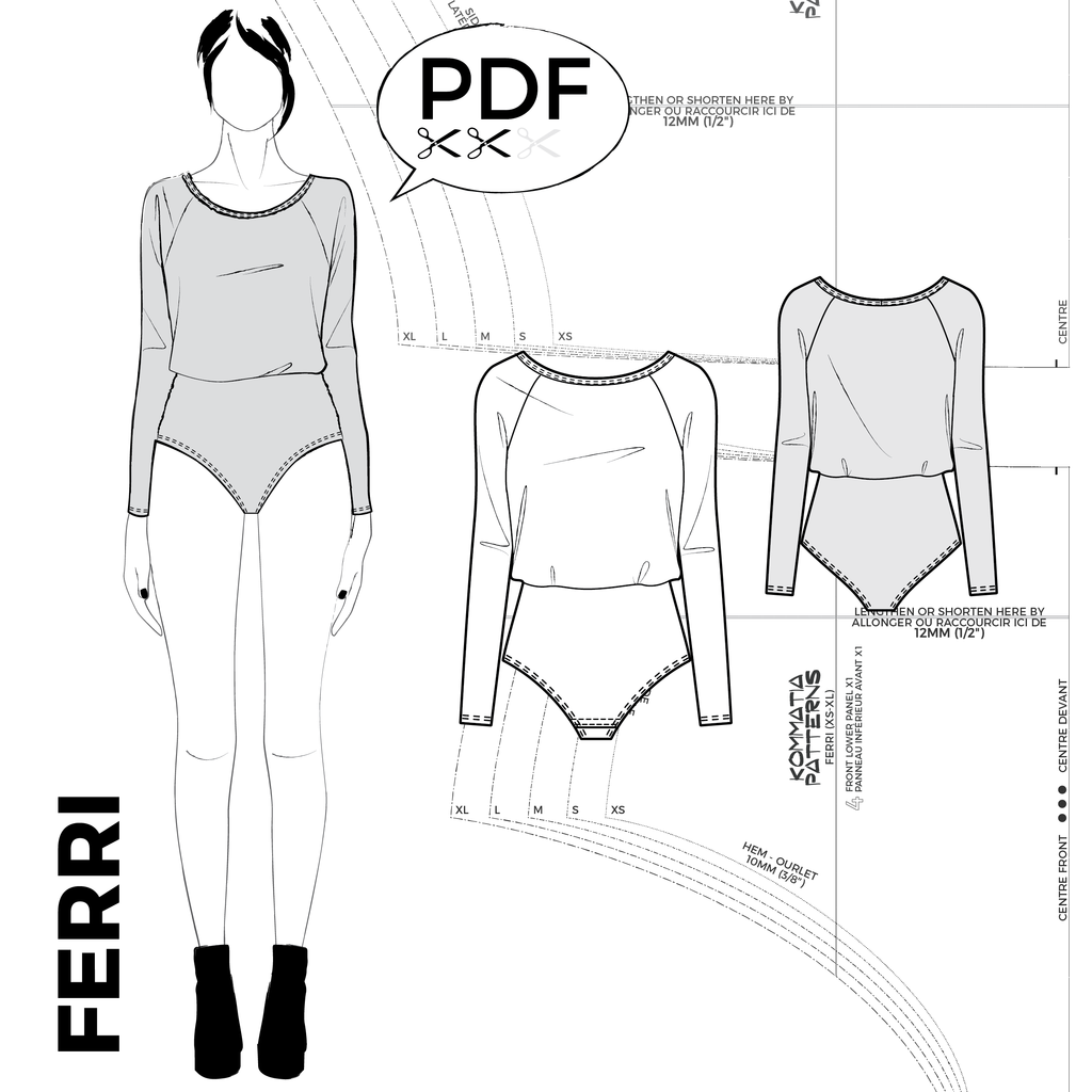 patron du body ferri kommatia patterns