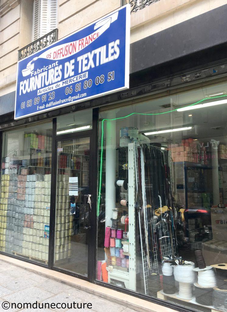fabricant et fournitures de textiles ds diffusion france paris