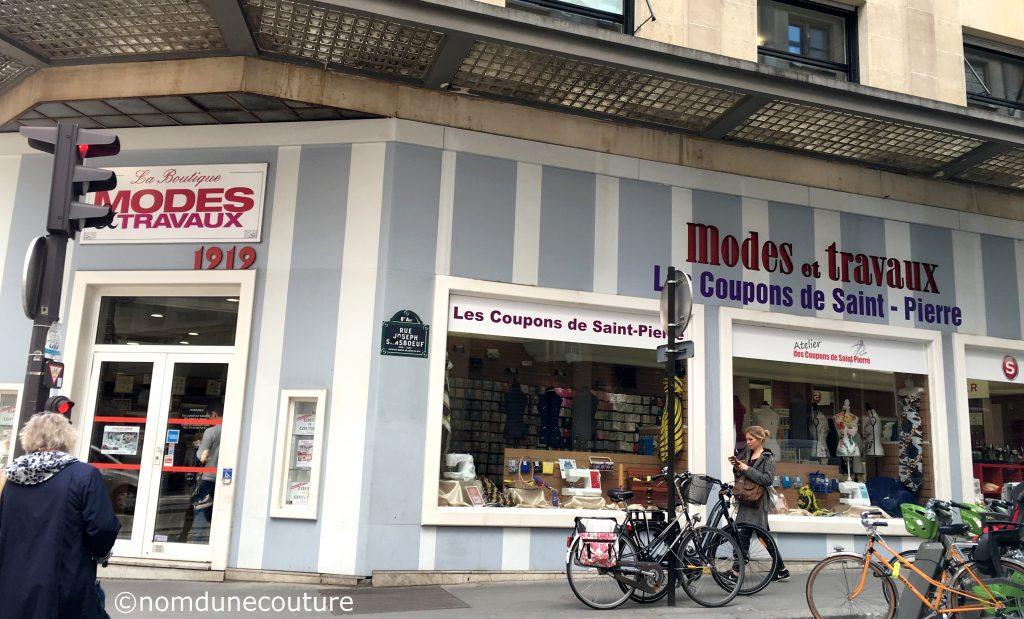 boutique modes et travaux les coupons de saint pierre paris