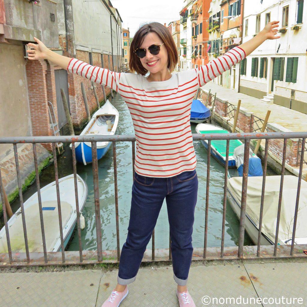 Vacances à Venise avec mon jean fait maison