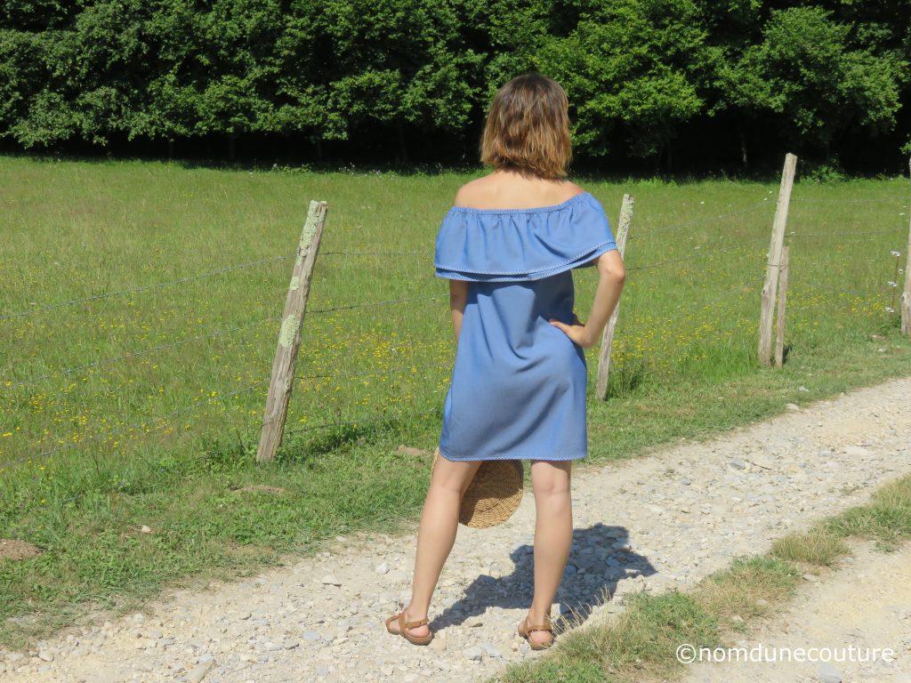 tuto gratuit robe facile pour l'été