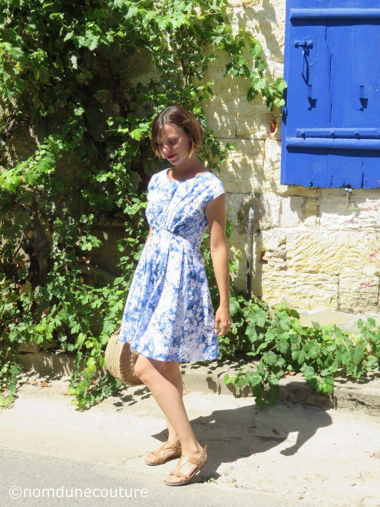 patron de robe Andria - Anne kerdilès Couture