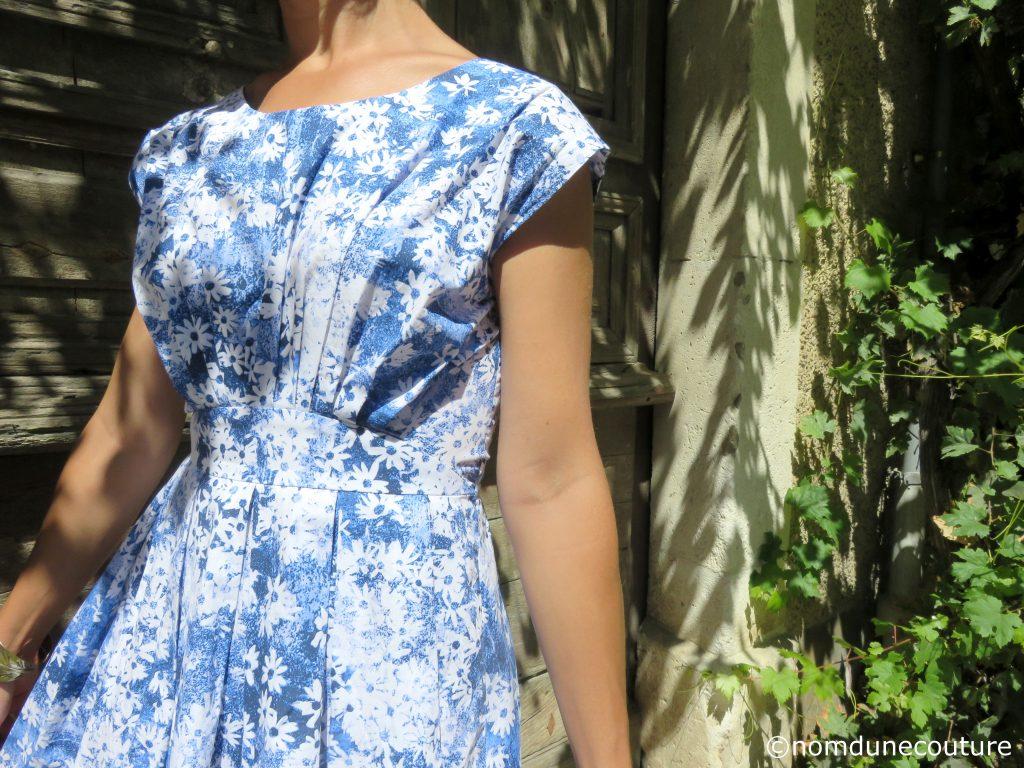 corsage à plis robe andria anne kerdiles couture