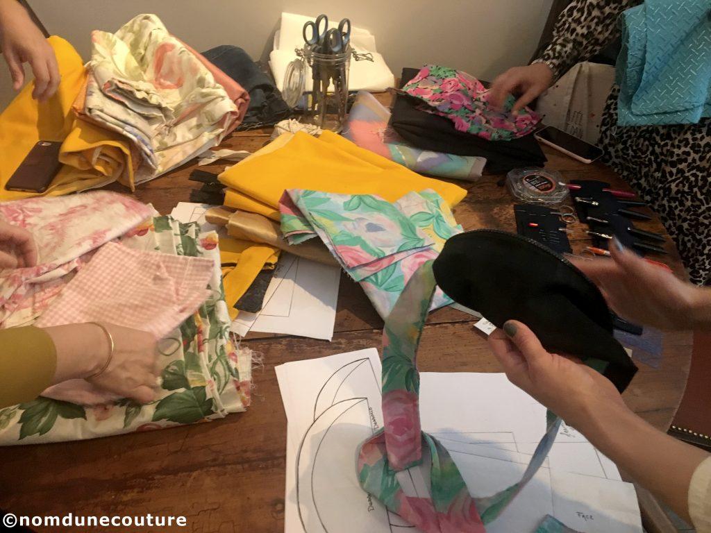 upcycling pour coudre un accessoire de mode