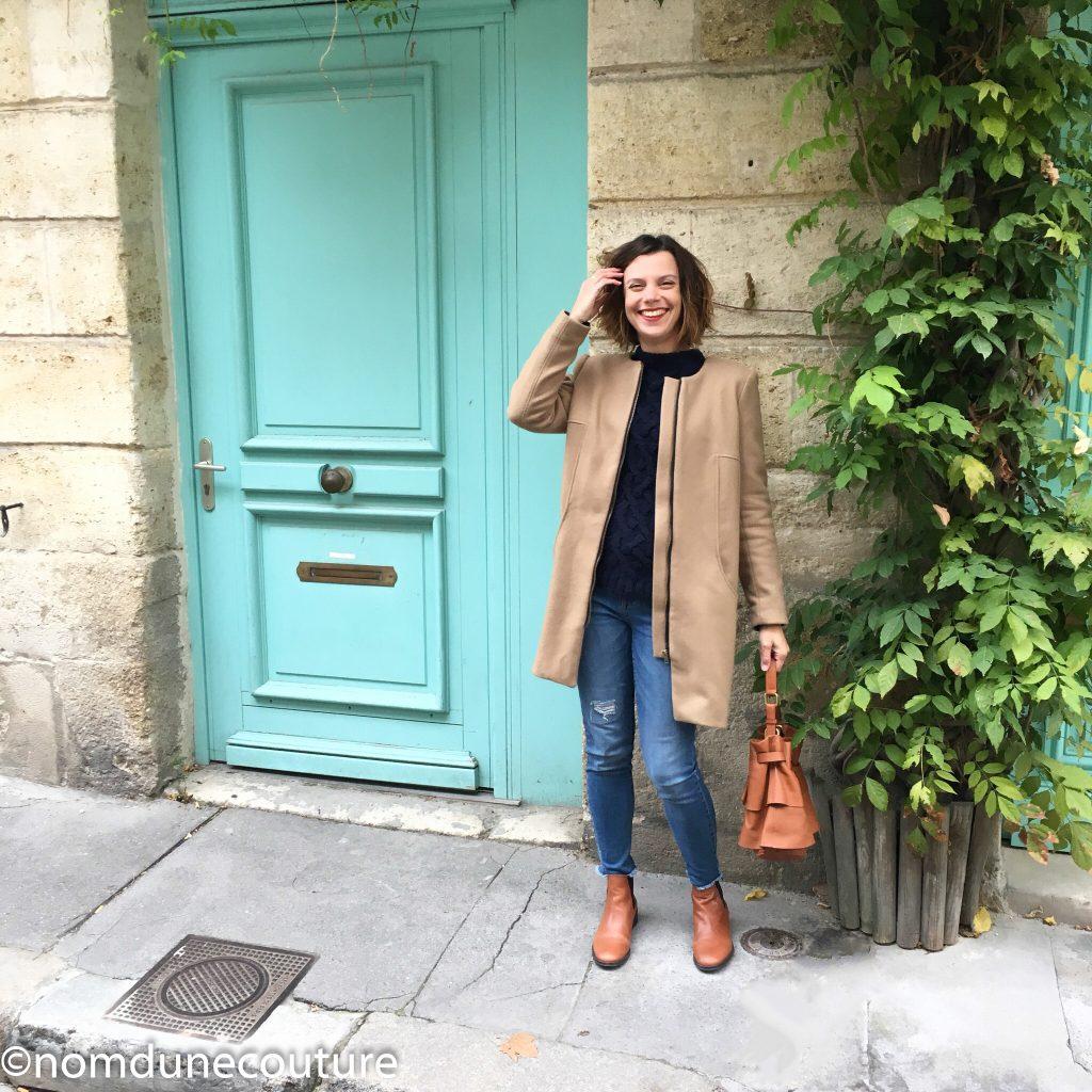 manteau tendance femme patron de couture