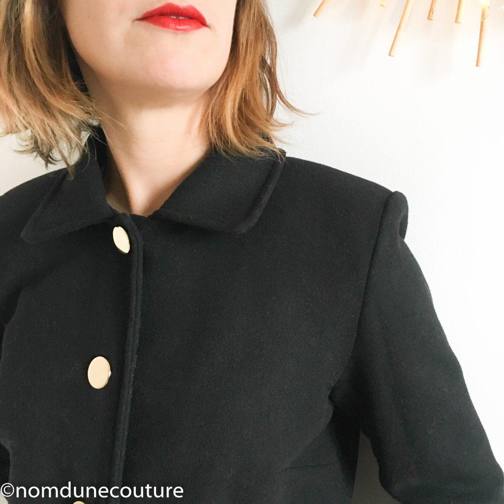 épaulette de manteau