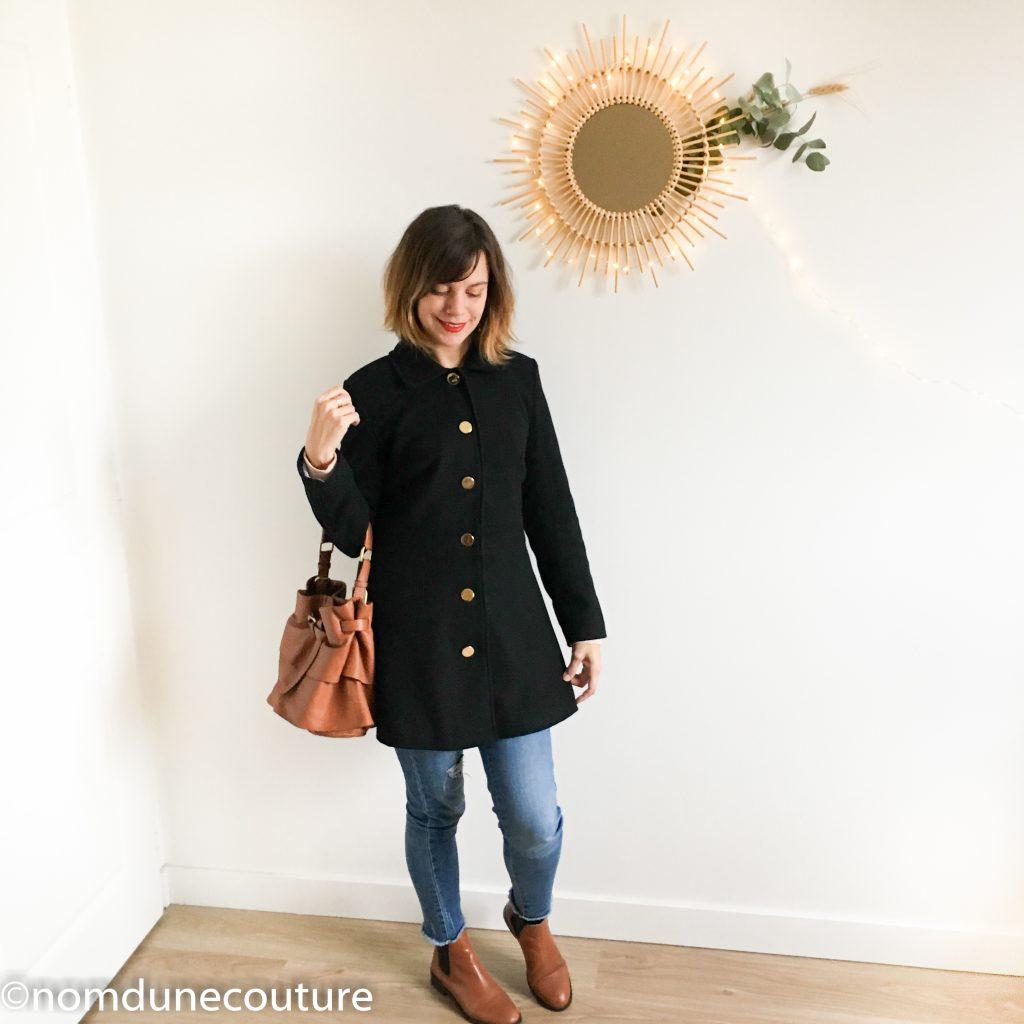 manteau nuage c'est moi le patron Coralie Bijasson tissu Mouna sew