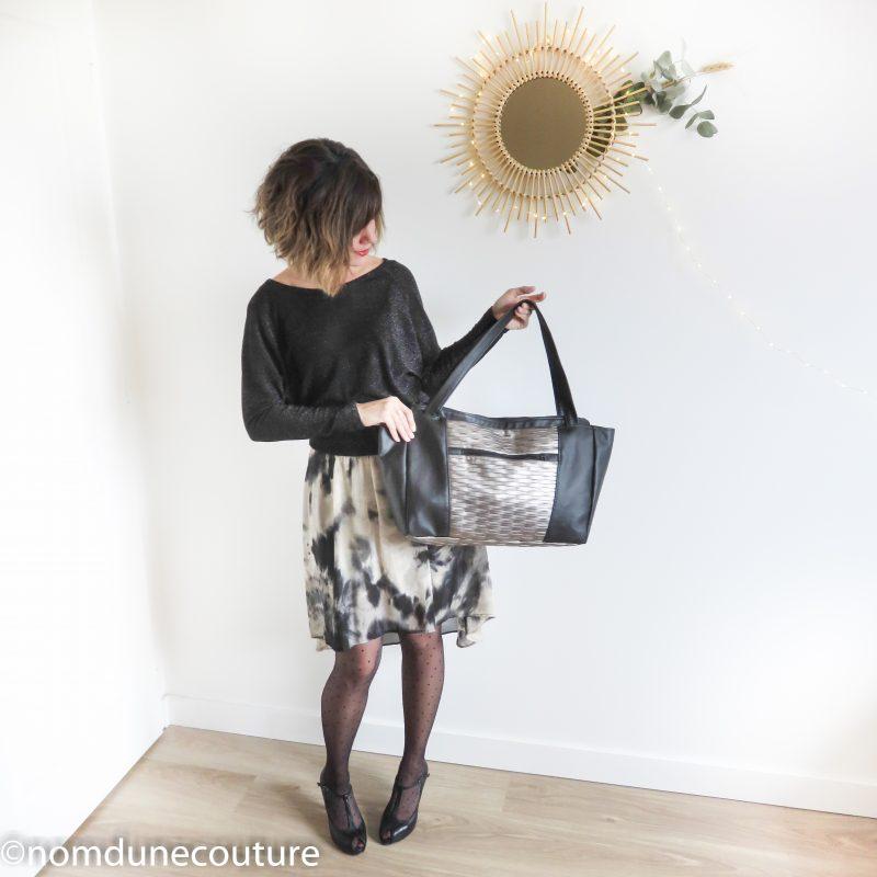 zip au dos du sac Emile petit patron couture