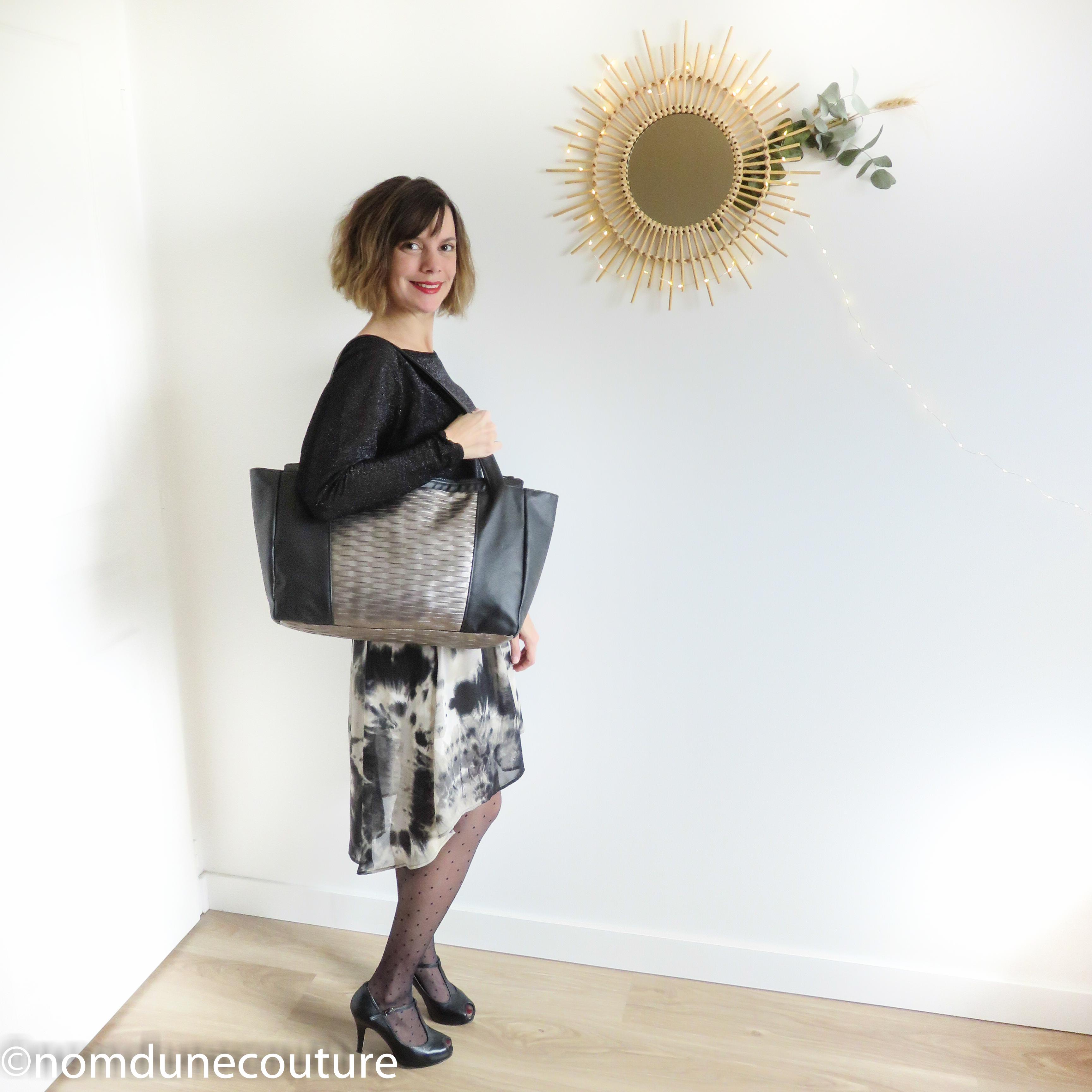 sac cabas Emile petit patron sewing pattern