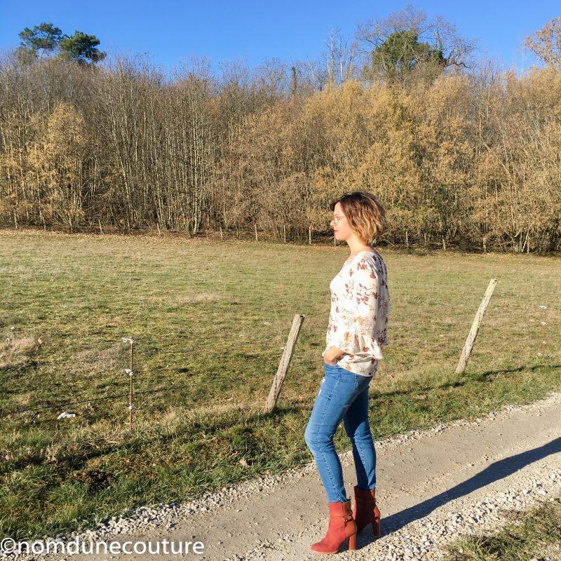 blouse michaela sophie denys vintage