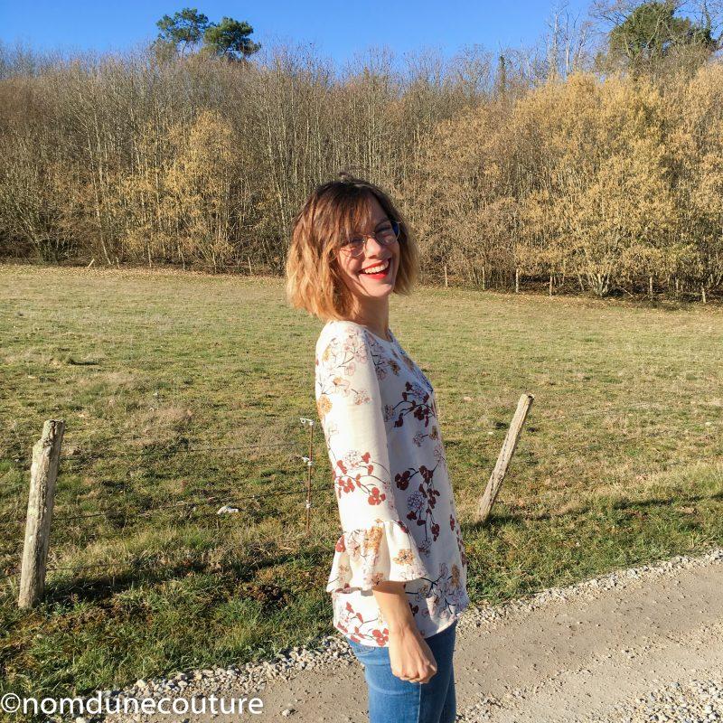 ma petite blouse Michaela