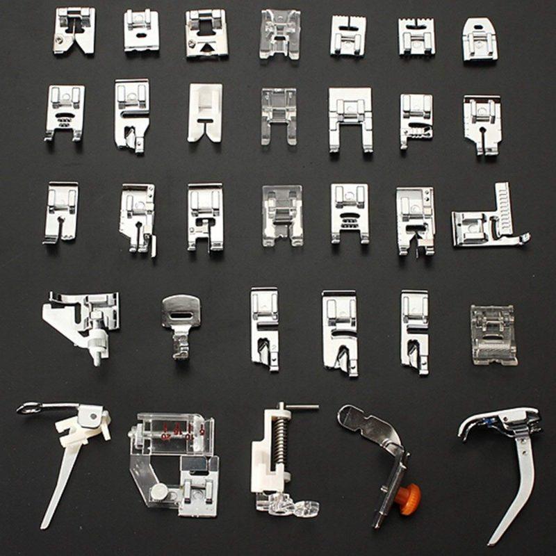 kit 32 pied presseur machine à coudre