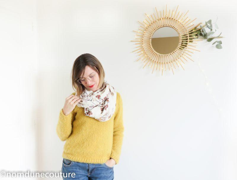 foulard snood homemade