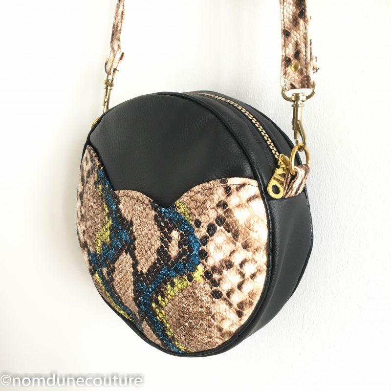 couture sac rond sun poche chat