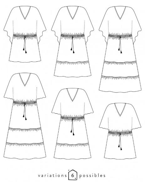 schéma robe Hélios Atelier Scämmit